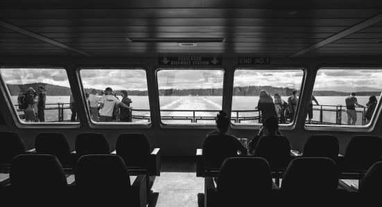 'Wenatchee' Ferry from Bainbridge to Seattle